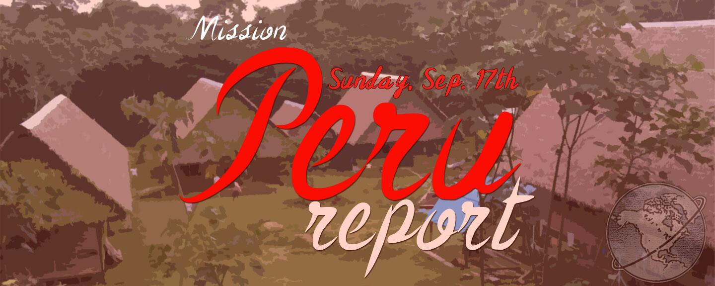 Peru Report 2017