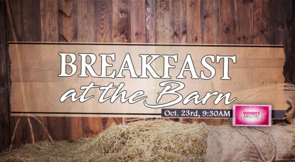 Breakfast at the Barn