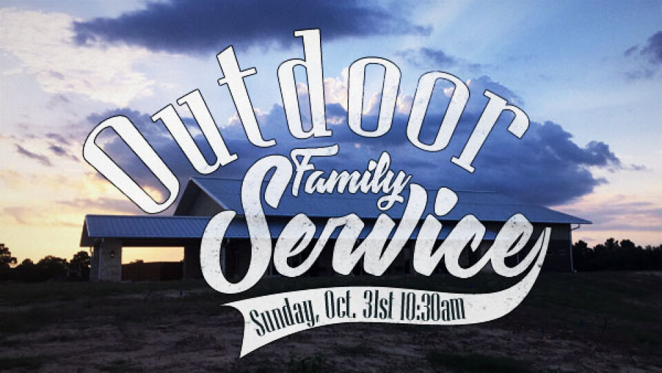 Outdoor Family Worship Service